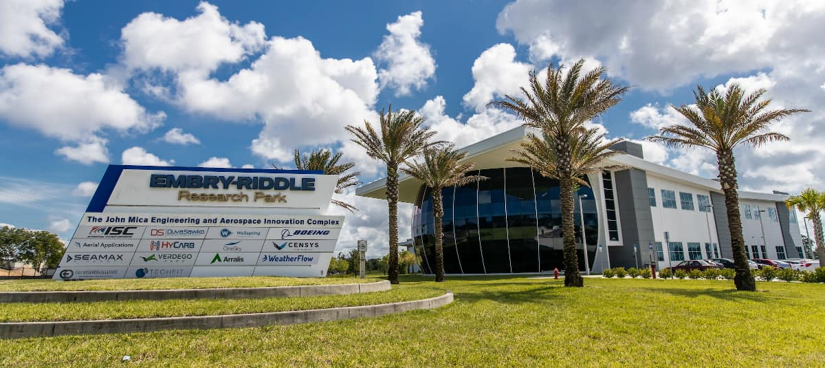 Embry-Riddle Research Park MicaPlex in Daytona Beach