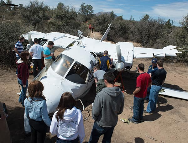 Aircraft Accident Investigation Lab