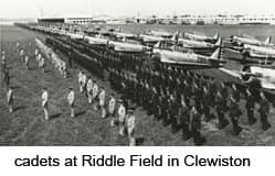Cadets at Riddle Field in Clewiston