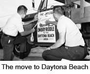 The move to Daytona Beach