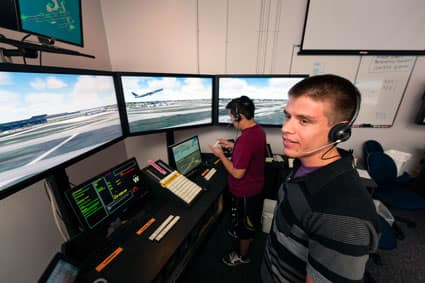 Air Traffic Control Lab at Embry-Riddle