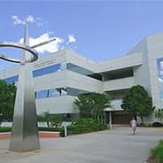 Lehman Building houses the College of Engineering at Embry-Riddle Daytona Beach.