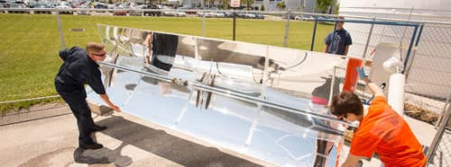 Solar power at Embry-Riddle Daytona Beach College of Engineering