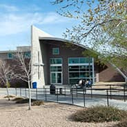 College of Engineering AXFAB Building at Embry-Riddle Prescott.