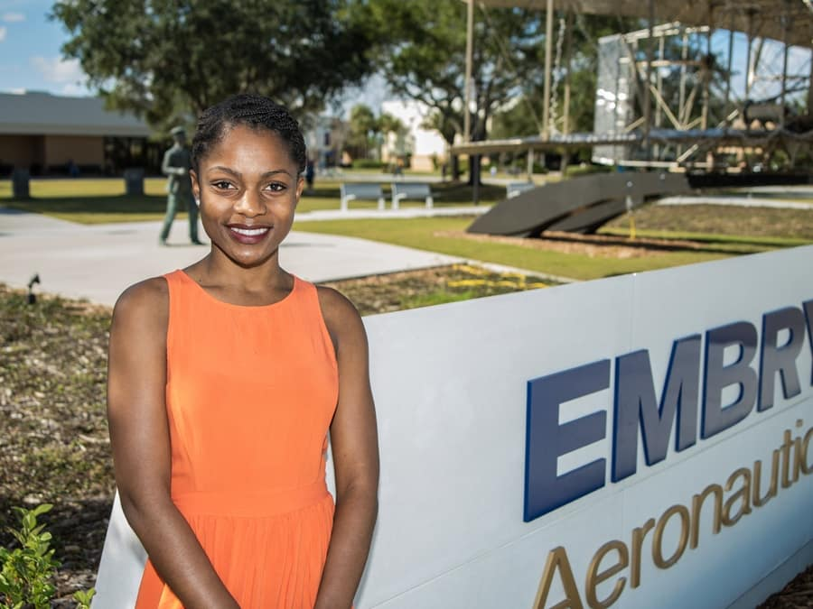 Embry-Riddle Aerospace Engineering Major Nadia