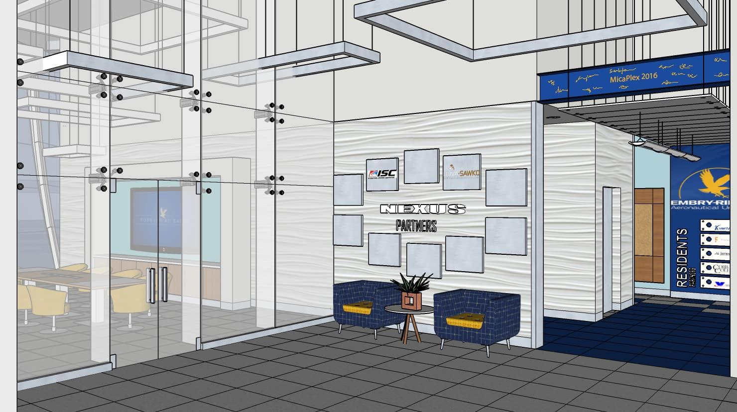 Micaplex Lobby Interior
