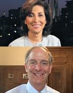 Ellen Ratner and John Leboutilier