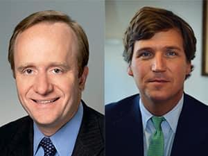 Paul Begala and Tucker Carlson