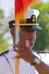 NROTC Color Parade